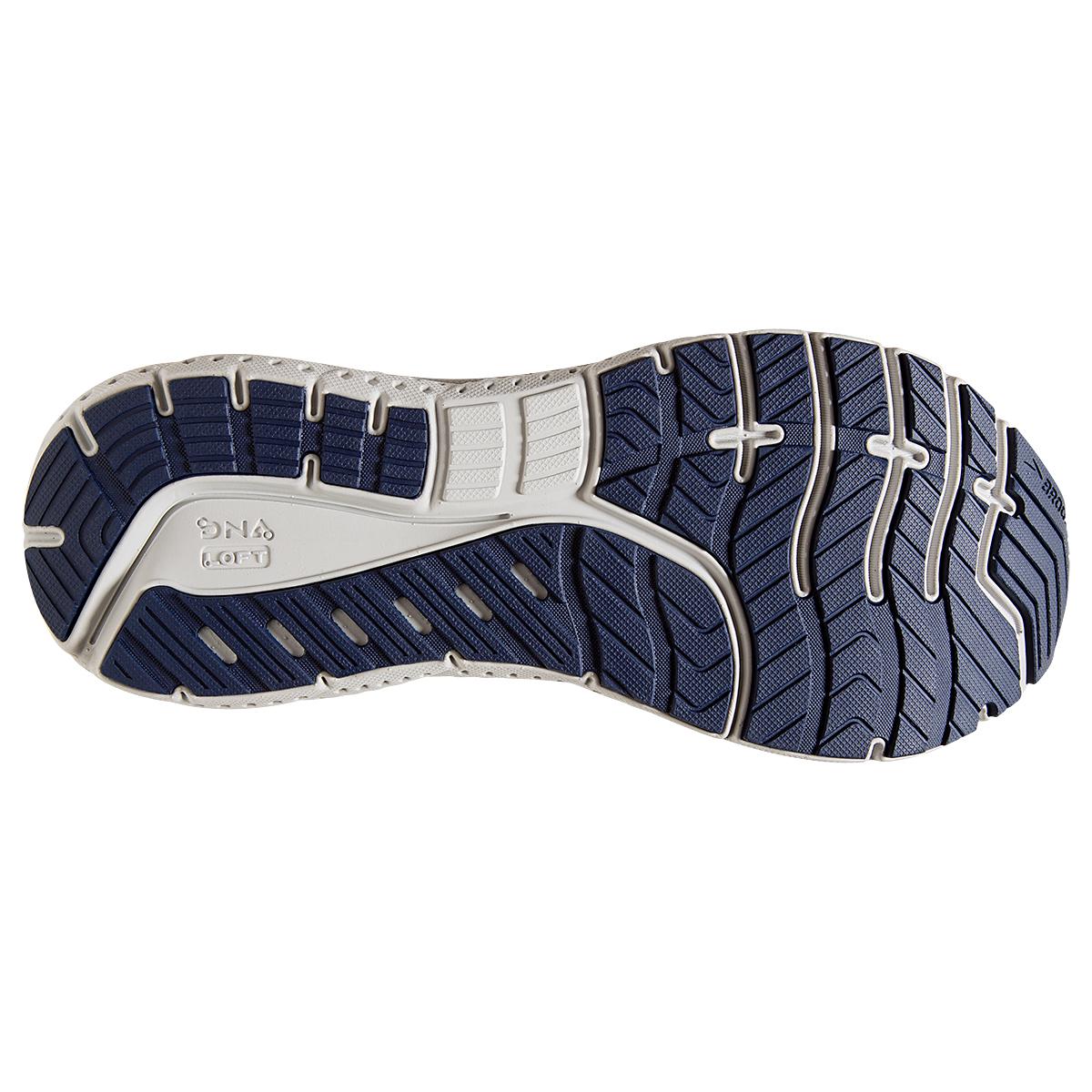 Men's Brooks Transcend 7 Running Shoe - Color: Deep Cobalt/Grey - Size: 7 - Width: Regular, Deep Cobalt/Grey, large, image 3