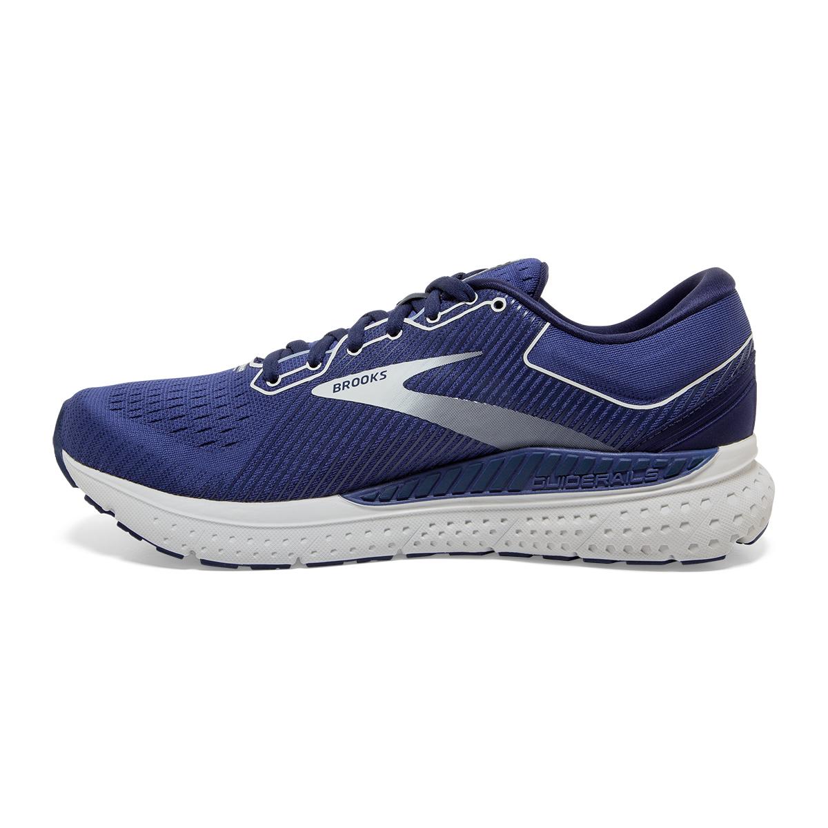 Men's Brooks Transcend 7 Running Shoe - Color: Deep Cobalt/Grey - Size: 7 - Width: Regular, Deep Cobalt/Grey, large, image 5