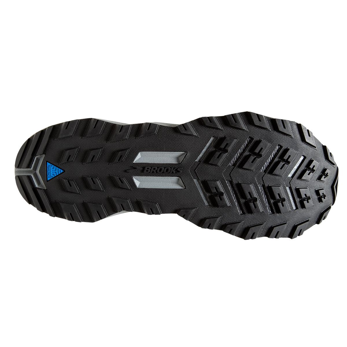 Men's Brooks Divide Trail Running Shoe - Color: Black/Grey (Regular Width) - Size: 7, Black/Grey, large, image 4
