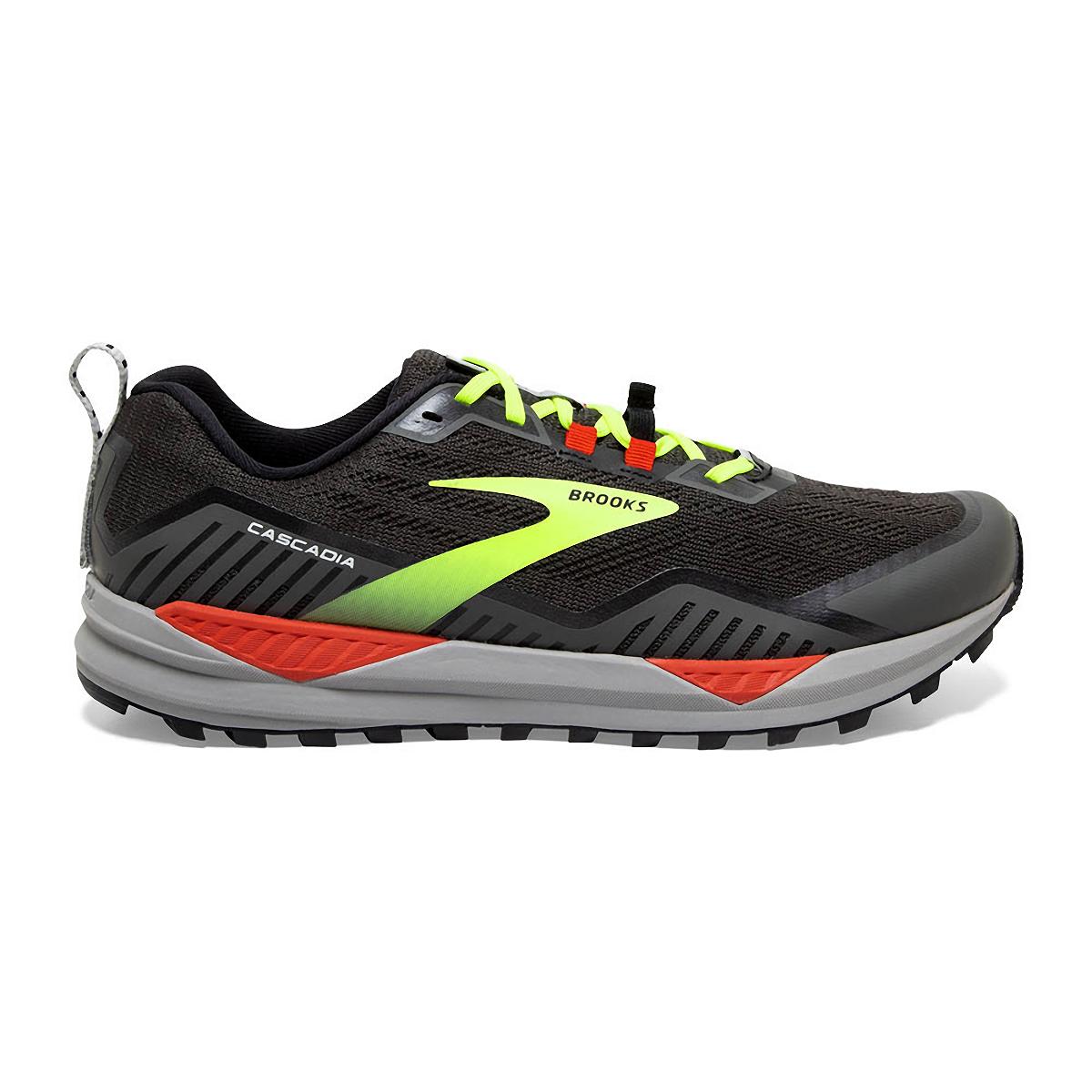 Men's Brooks Cascadia 15 Trail Running Shoe - Color: Black/Raven - Size: 8.5 - Width: Regular, Black/Raven, large, image 1