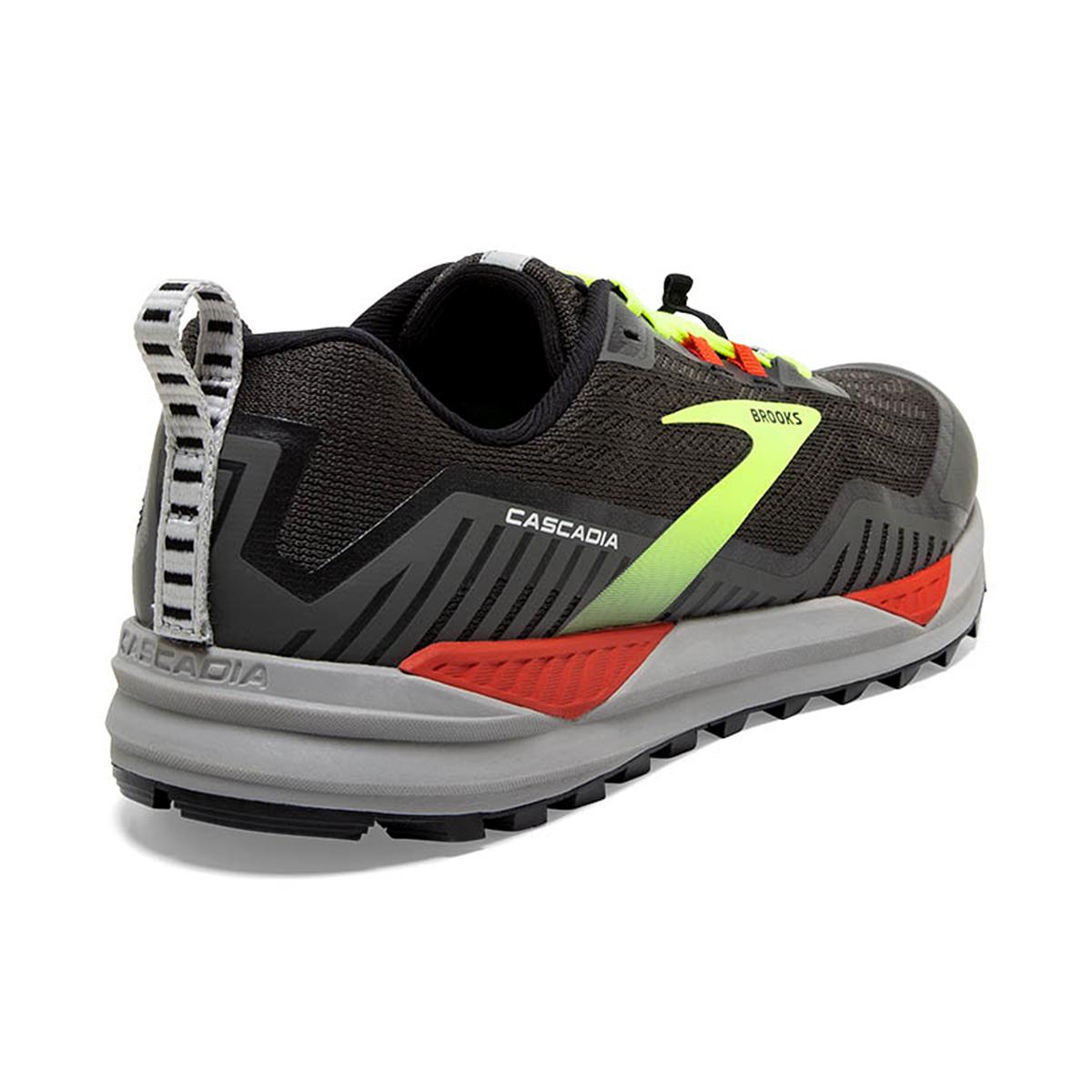 Men's Brooks Cascadia 15 Trail Running Shoe - Color: Black/Raven - Size: 8.5 - Width: Regular, Black/Raven, large, image 4