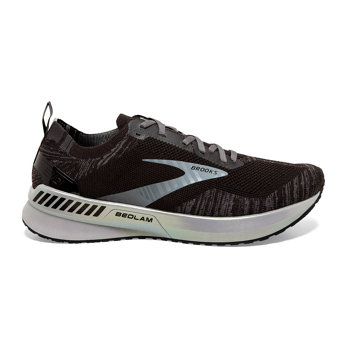 Men's Brooks Bedlam 3 Running Shoe - Color: Black/Blackened - Size: 8.5 - Width: Regular, Black/Blackened, large, image 1
