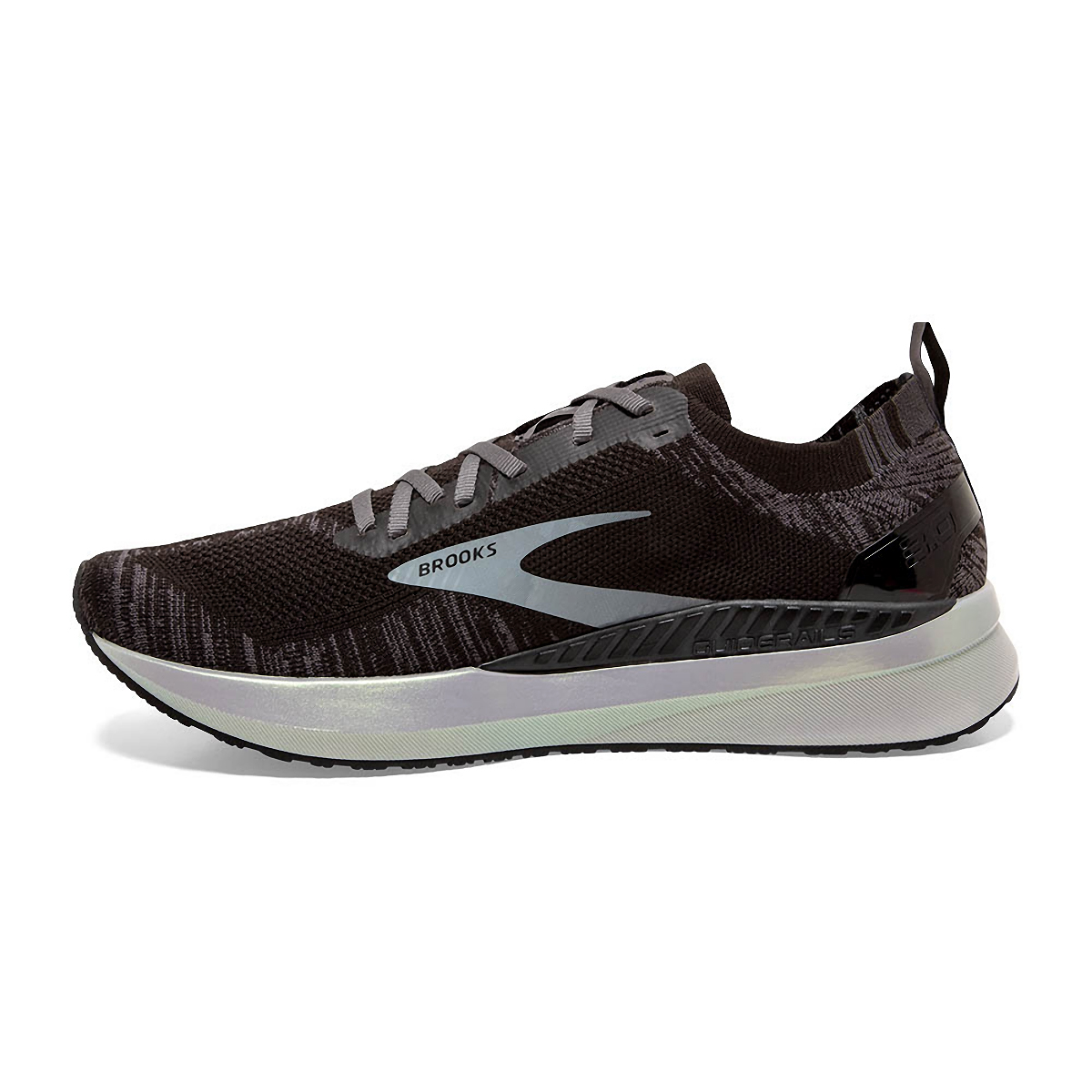 Men's Brooks Bedlam 3 Running Shoe - Color: Black/Blackened - Size: 8.5 - Width: Regular, Black/Blackened, large, image 2