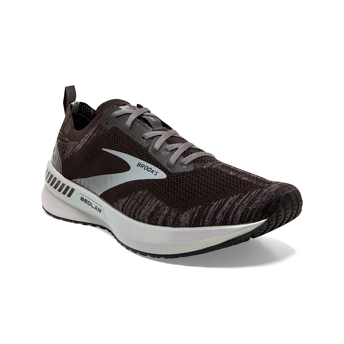 Men's Brooks Bedlam 3 Running Shoe - Color: Black/Blackened - Size: 8.5 - Width: Regular, Black/Blackened, large, image 3