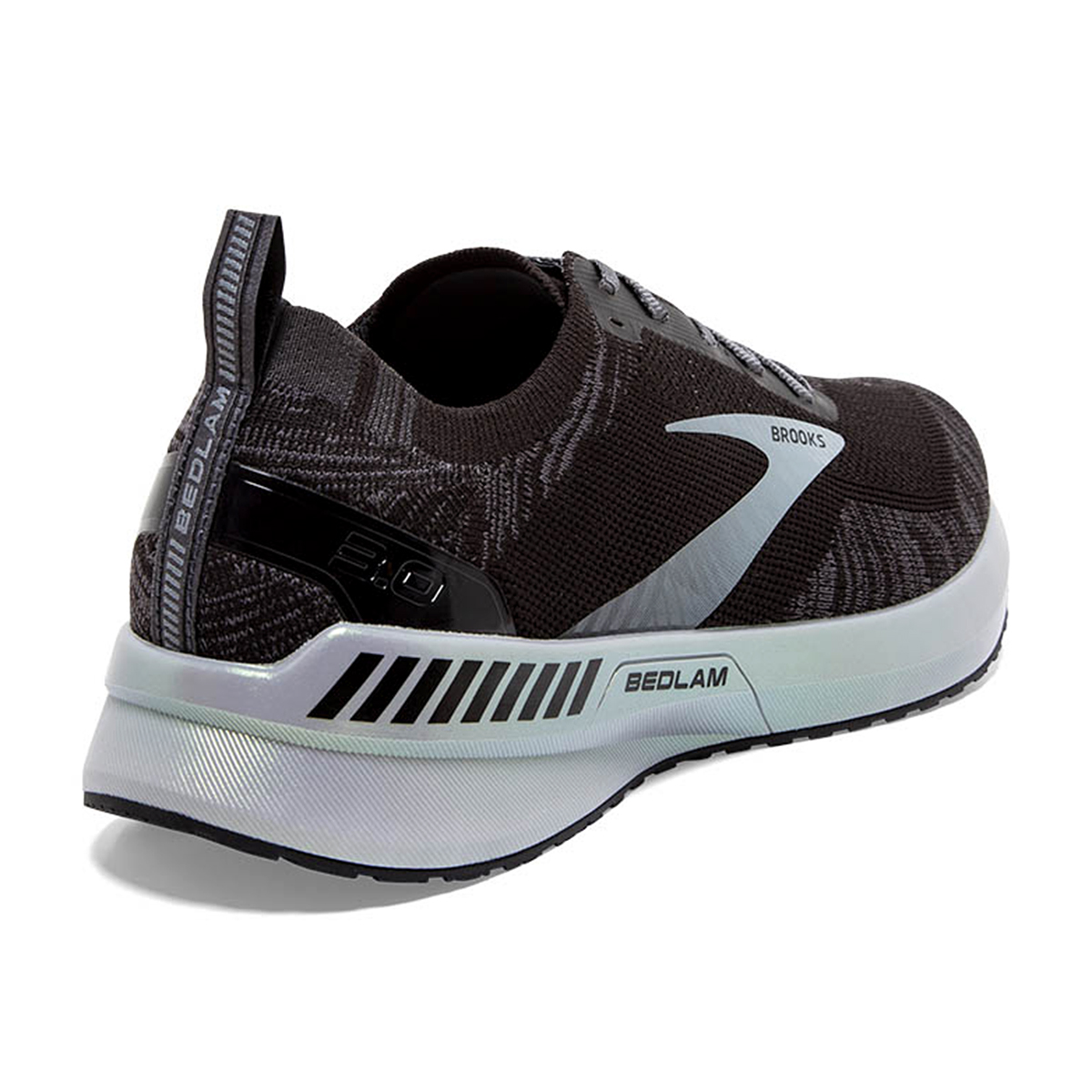 Men's Brooks Bedlam 3 Running Shoe - Color: Black/Blackened - Size: 8.5 - Width: Regular, Black/Blackened, large, image 4