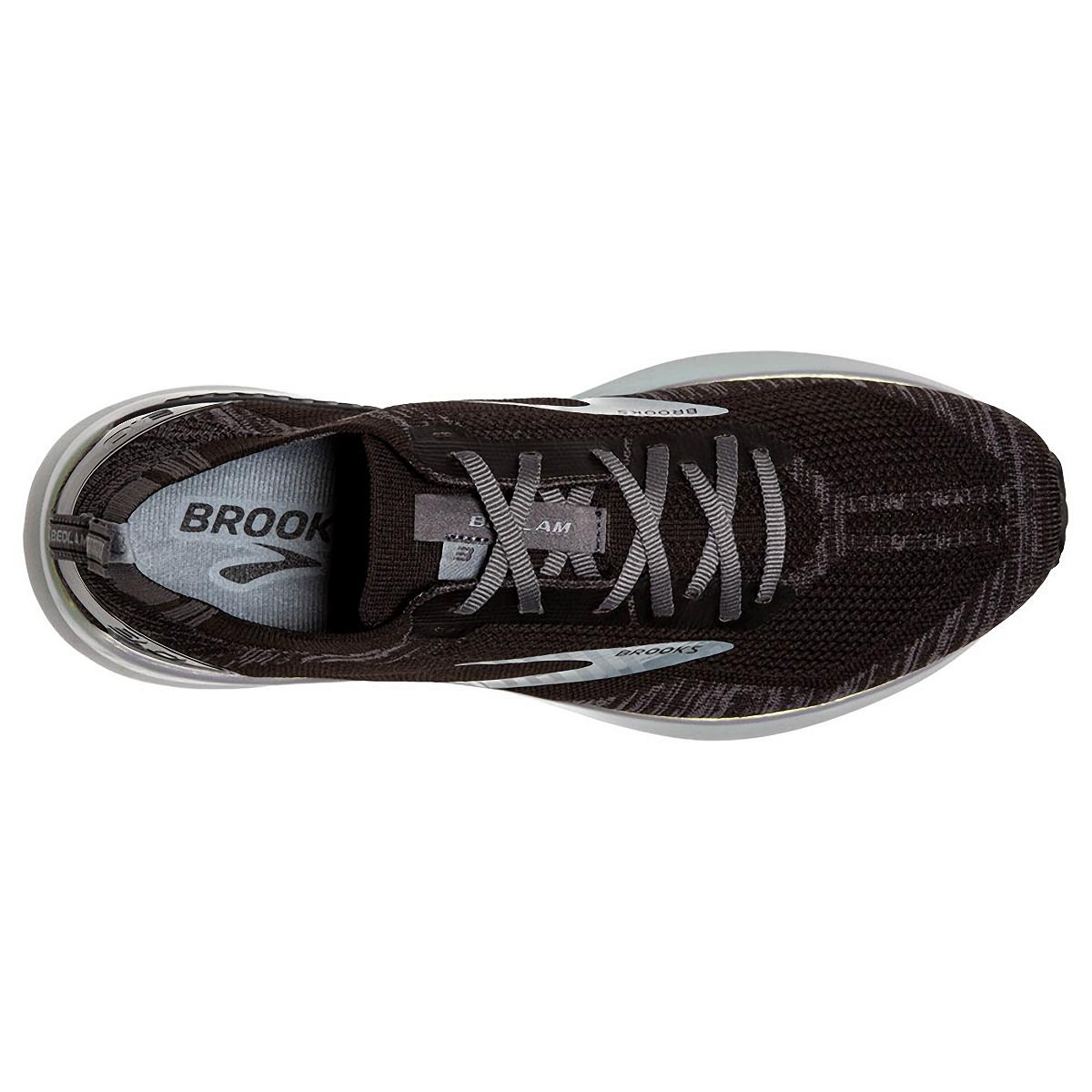 Men's Brooks Bedlam 3 Running Shoe - Color: Black/Blackened - Size: 8.5 - Width: Regular, Black/Blackened, large, image 5