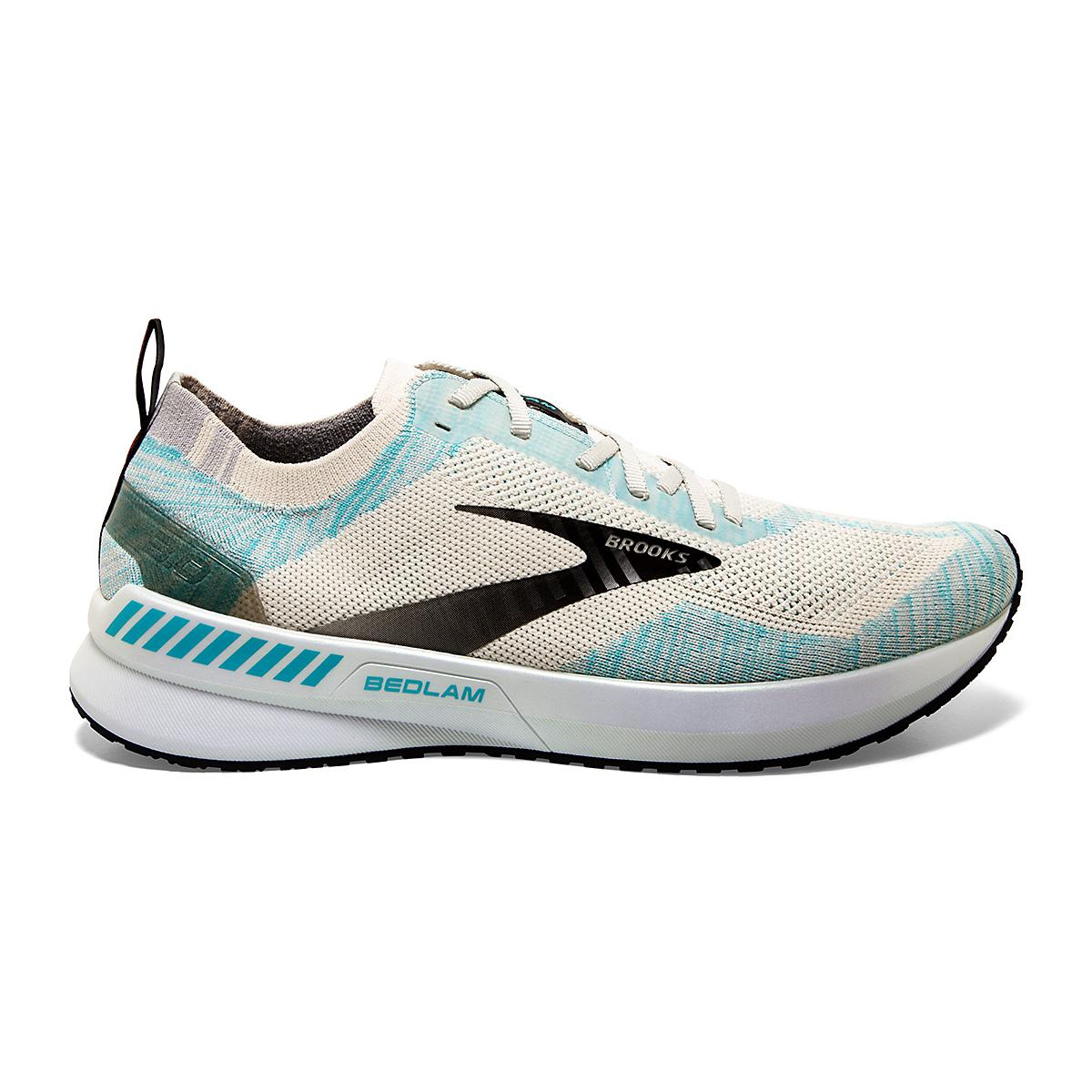 Men's Brooks Bedlam 3 Running Shoe - Color: Jet Stream/Antarctica/Capri - Size: 7 - Width: Regular, Jet Stream/Antarctica/Capri, large, image 1