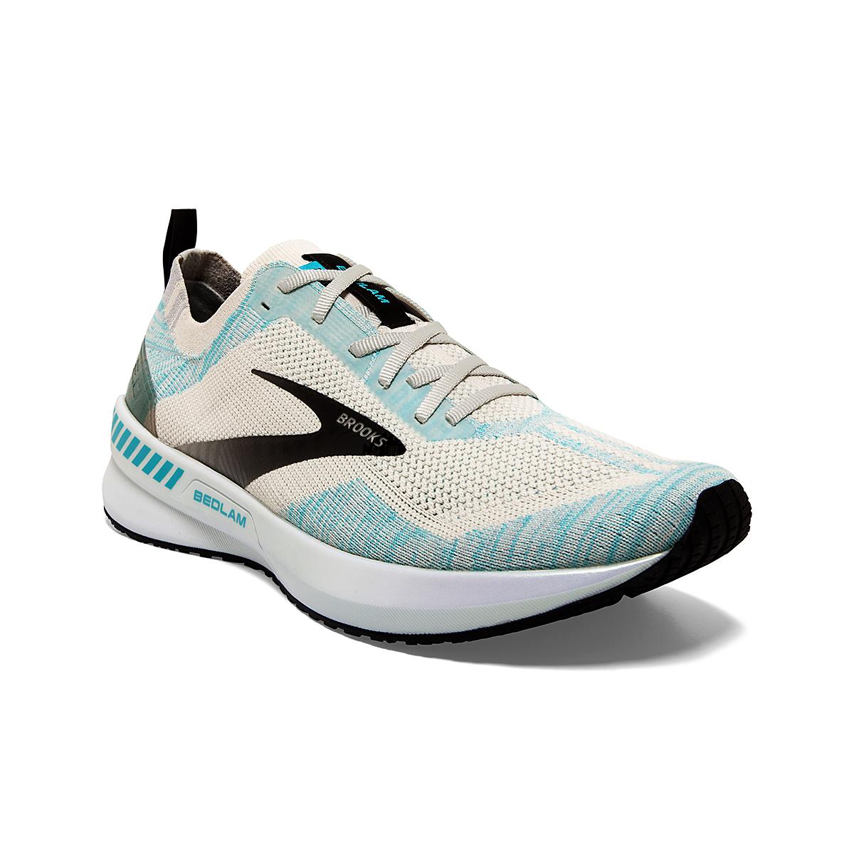 Men's Brooks Bedlam 3 Running Shoe - Color: Jet Stream/Antarctica/Capri - Size: 7 - Width: Regular, Jet Stream/Antarctica/Capri, large, image 3