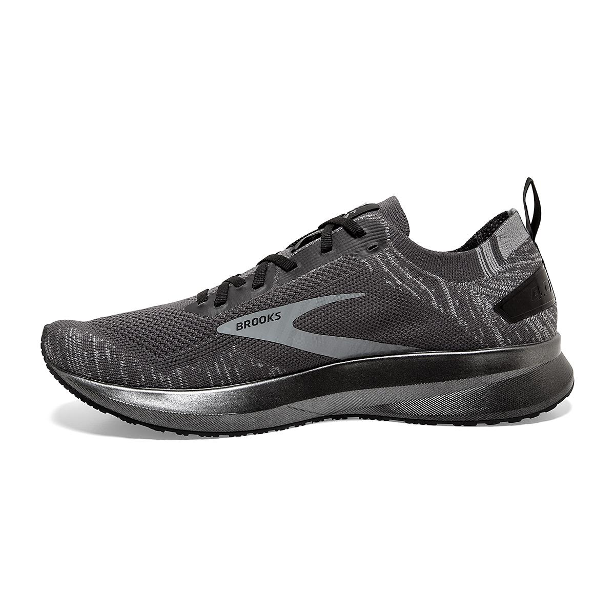 Men's Brooks Levitate 4 Running Shoe - Color: Blackened Pearl/Grey/Black - Size: 8 - Width: Regular, Blackened Pearl/Grey/Black, large, image 4