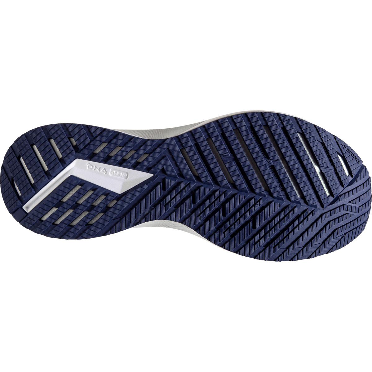 Men's Brooks Levitate 4 Running Shoe - Color: Navy/Grey/White - Size: 7 - Width: Regular, Navy/Grey/White, large, image 4