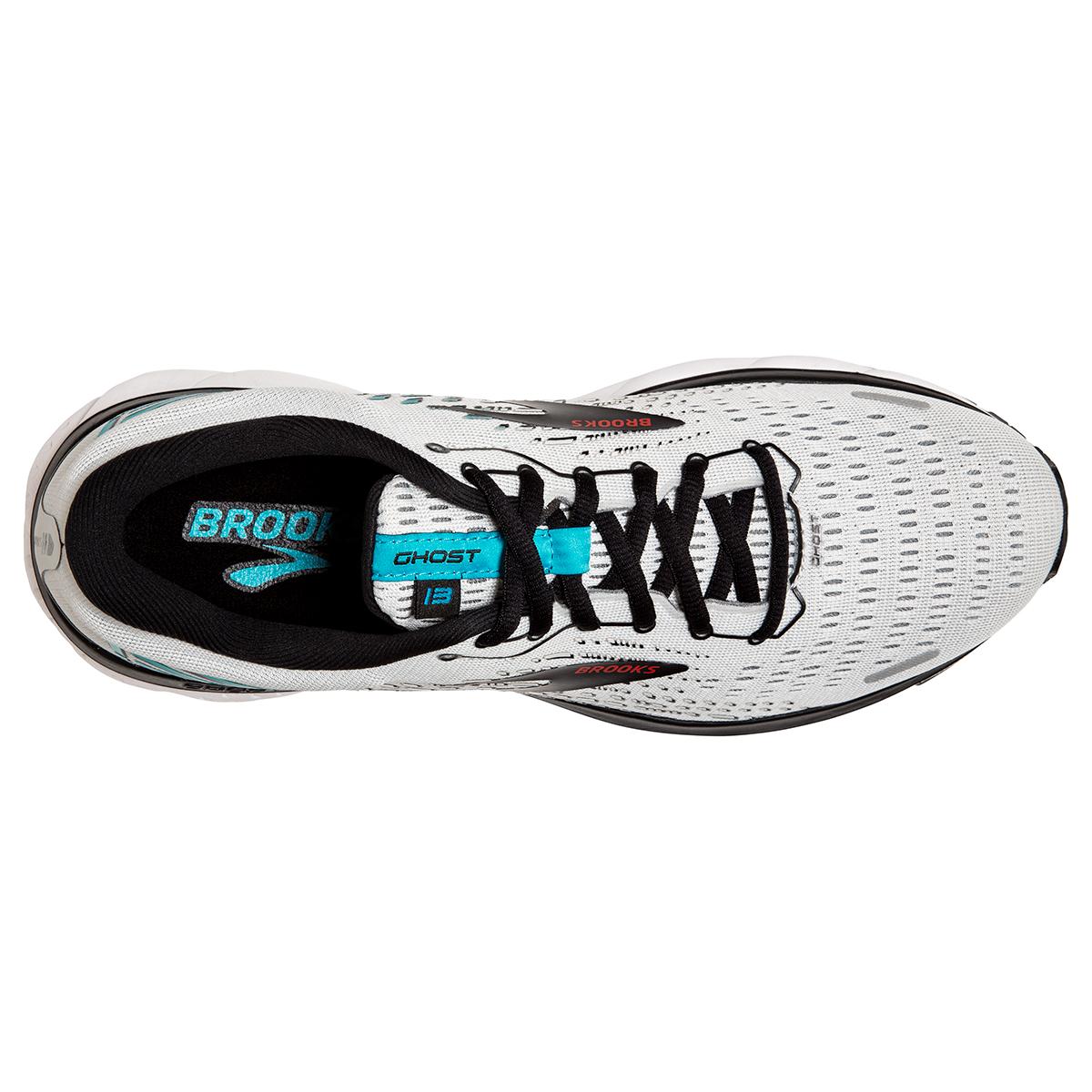 Men's Brooks Ghost 13 Running Shoe - Color: Grey/Black - Size: 7 - Width: Regular, Grey/Black, large, image 2