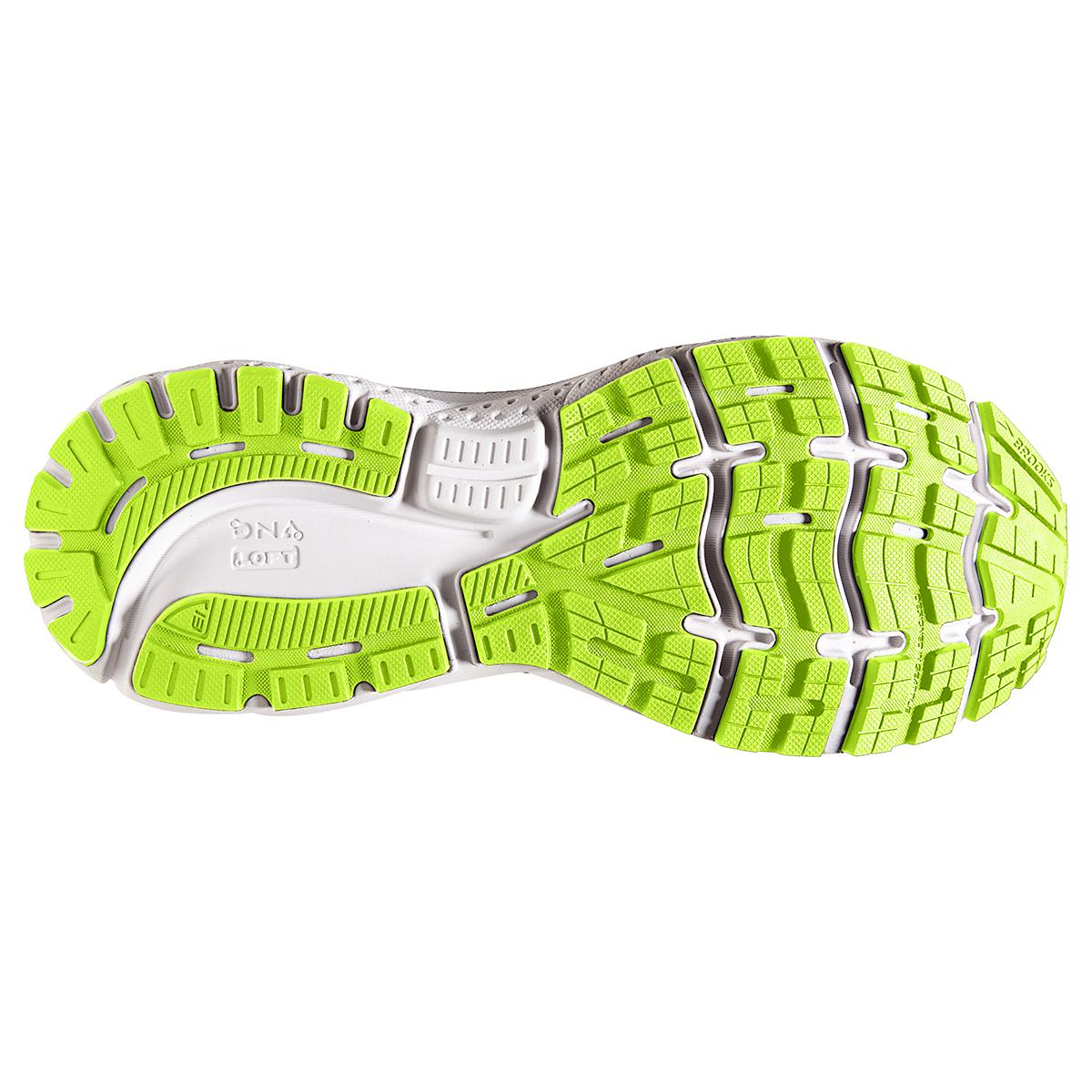 Men's Brooks Ghost 13 Running Shoe - Color: Black/Nightlife/White - Size: 7 - Width: Regular, Black/Nightlife/White, large, image 4