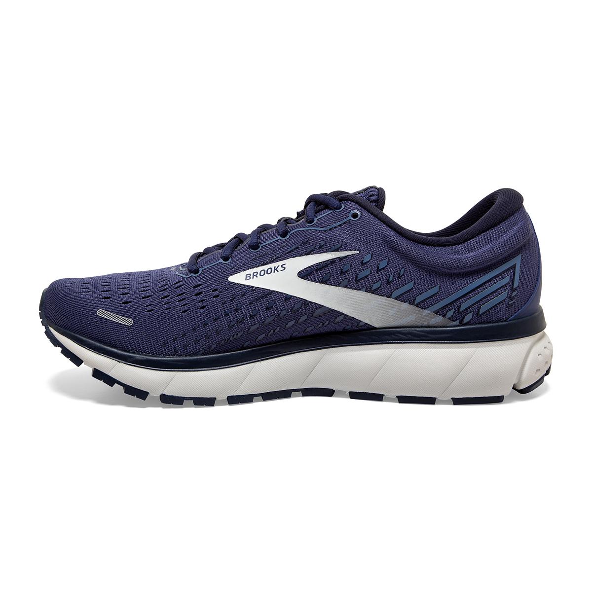 Men's Brooks Ghost 13 Running Shoe - Color: Deep Cobalt/Grey - Size: 7 - Width: Regular, Deep Cobalt/Grey, large, image 5