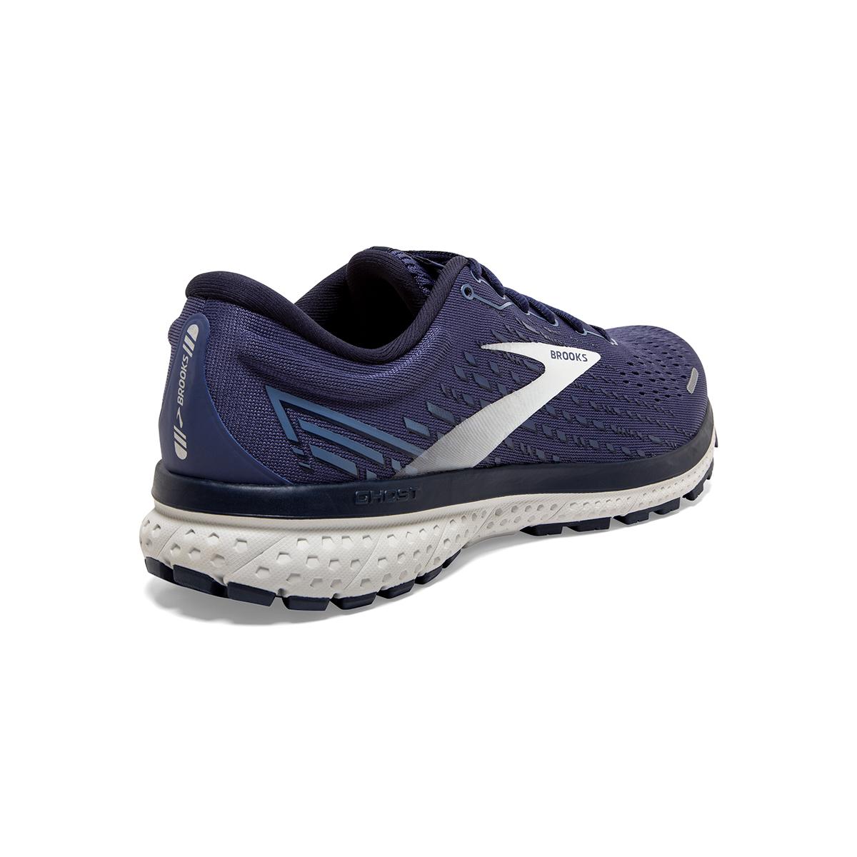 Men's Brooks Ghost 13 Running Shoe - Color: Deep Cobalt/Grey - Size: 7 - Width: Regular, Deep Cobalt/Grey, large, image 6