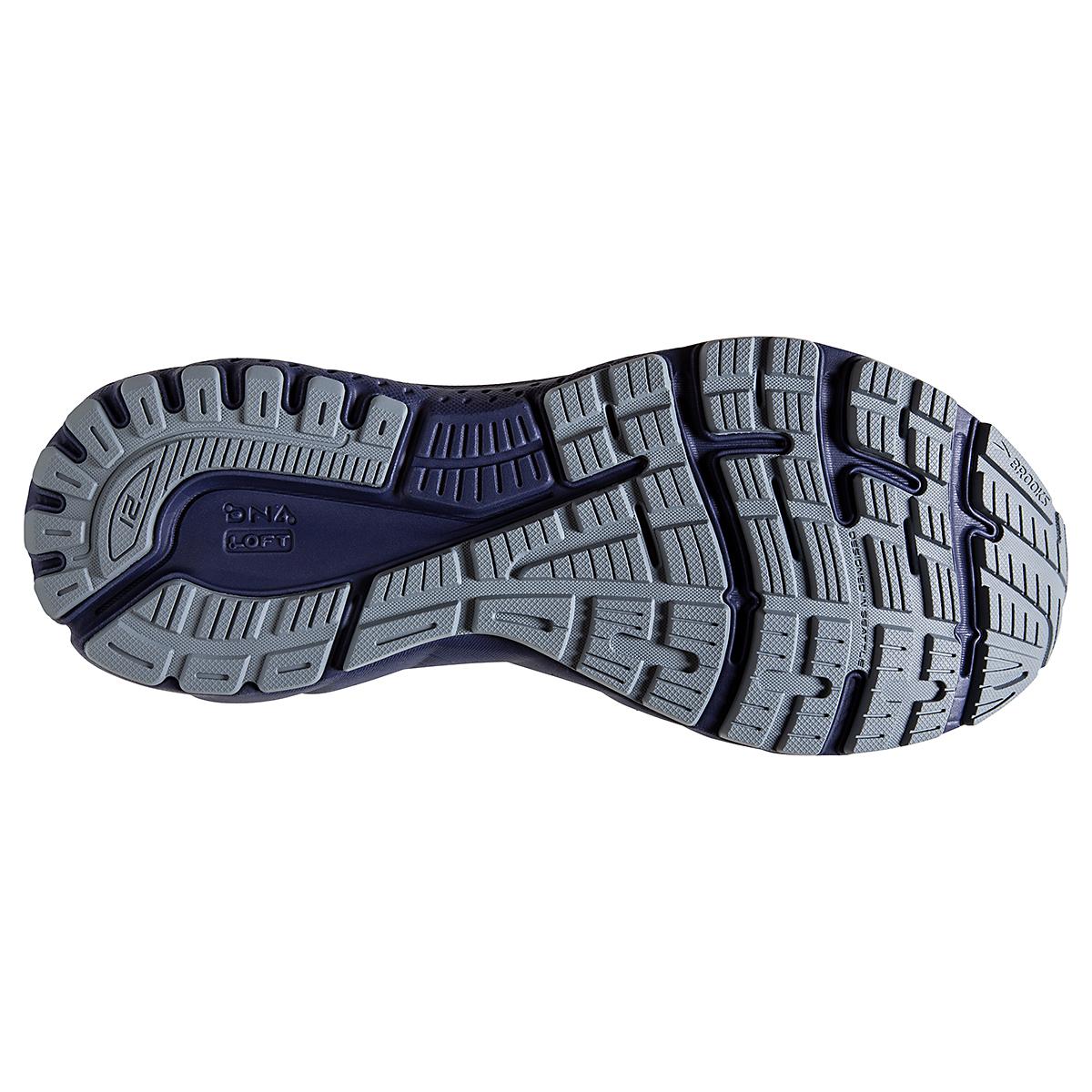 Men's Brooks Adrenaline GTS 21 Running Shoe - Color: Grey/Tradewinds - Size: 7 - Width: Regular, Grey/Tradewinds, large, image 6