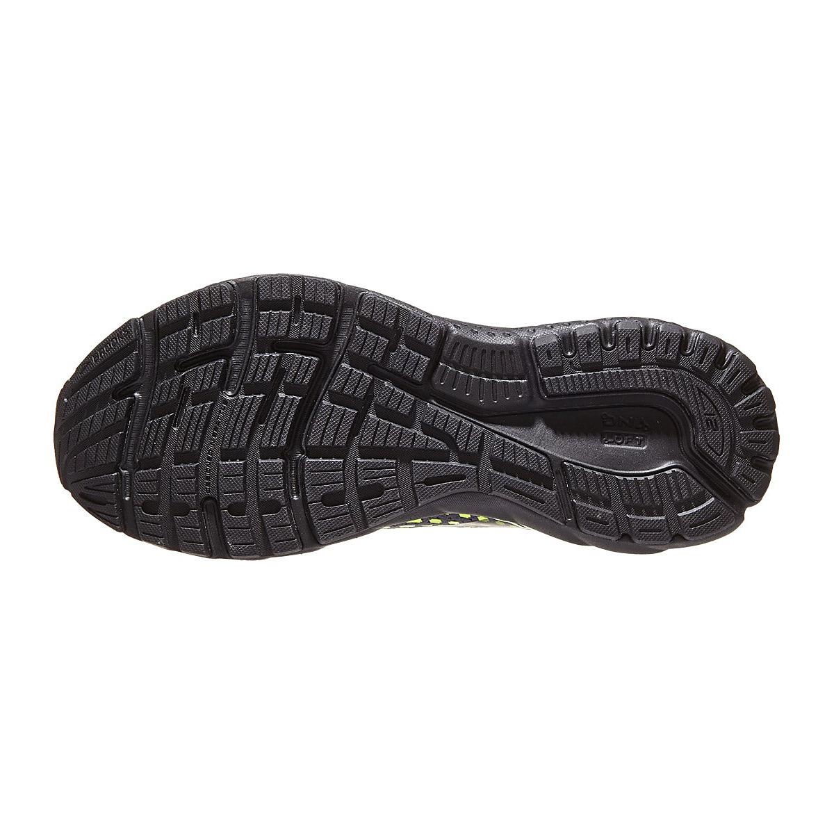 Men's Brooks Adrenaline Gts 21 Running Shoe - Color: Black/Blue Jewel - Size: 8 - Width: Regular, Black/Blue Jewel, large, image 3