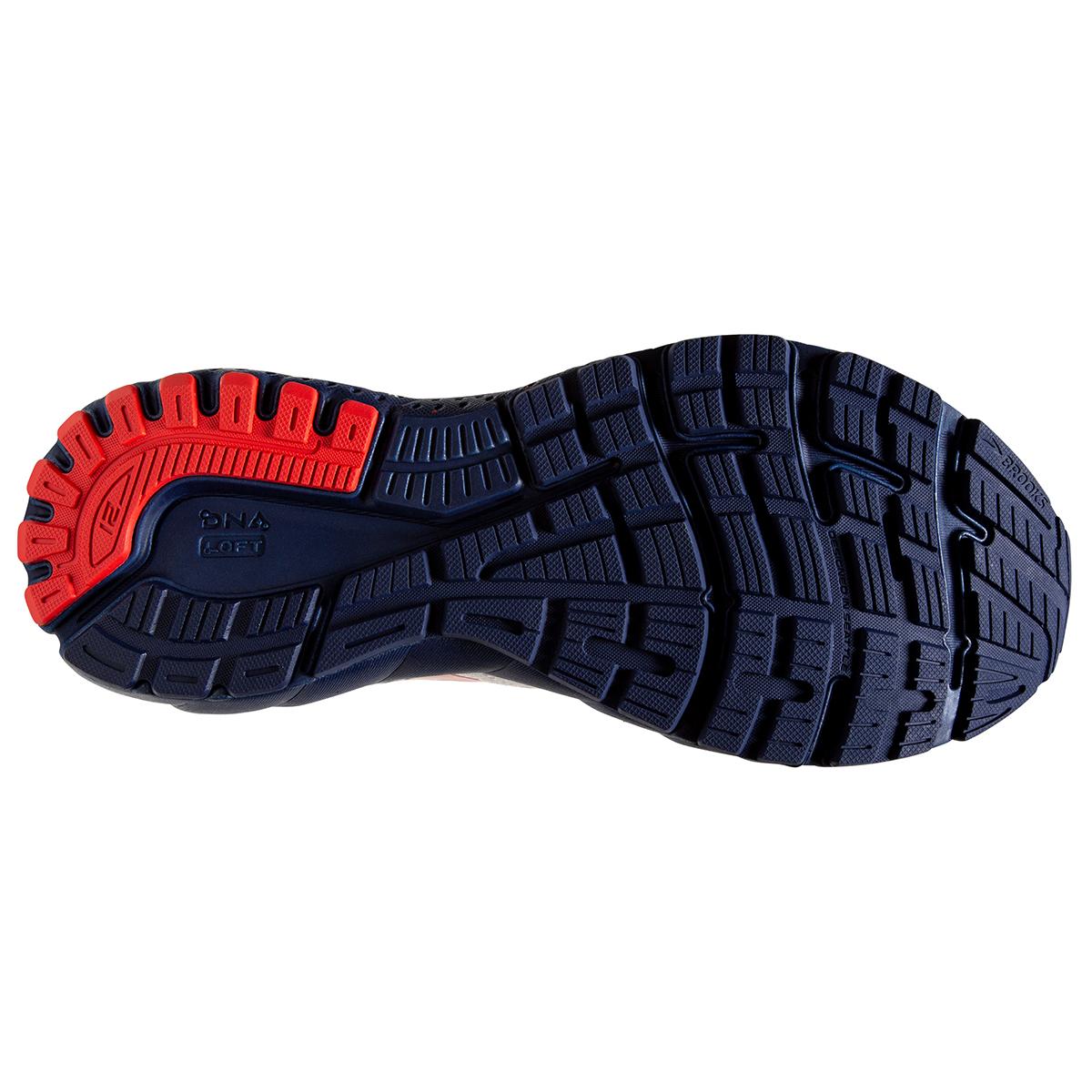 Men's Brooks Adrenaline GTS 21 Running Shoe - Color: White/Blue/Red - Size: 7 - Width: Regular, White/Blue/Red, large, image 6