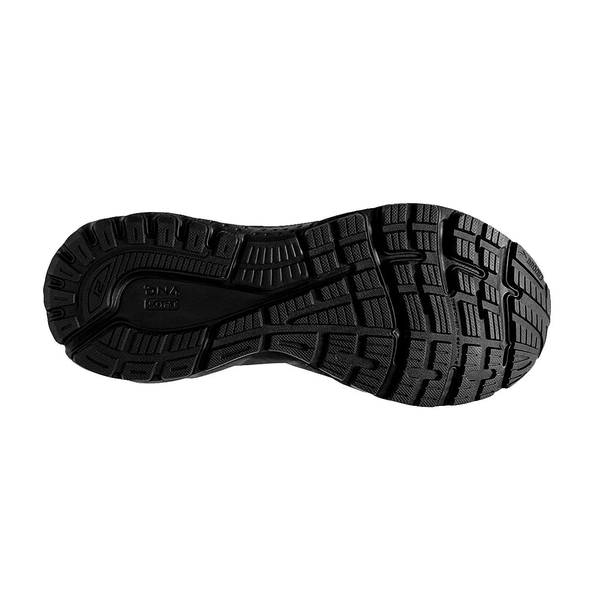 Men's Brooks Adrenaline GTS 21 Running Shoe - Color: Black/Black/Ebony - Size: 7 - Width: Regular, Black/Black/Ebony, large, image 4