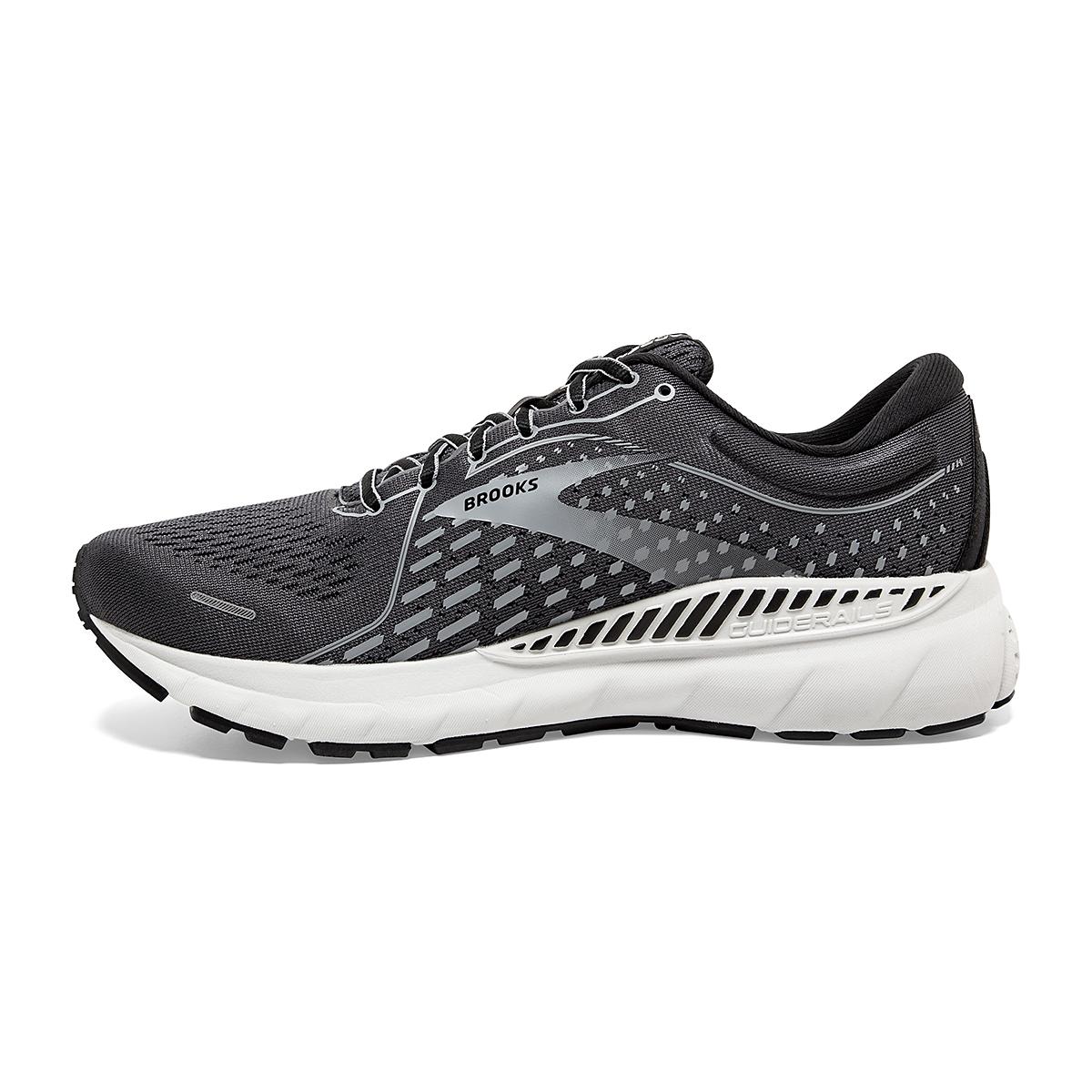 Men's Brooks Adrenaline GTS 21 Running Shoe - Color: Blackened Pearl - Size: 7 - Width: Regular, Blackened Pearl, large, image 2