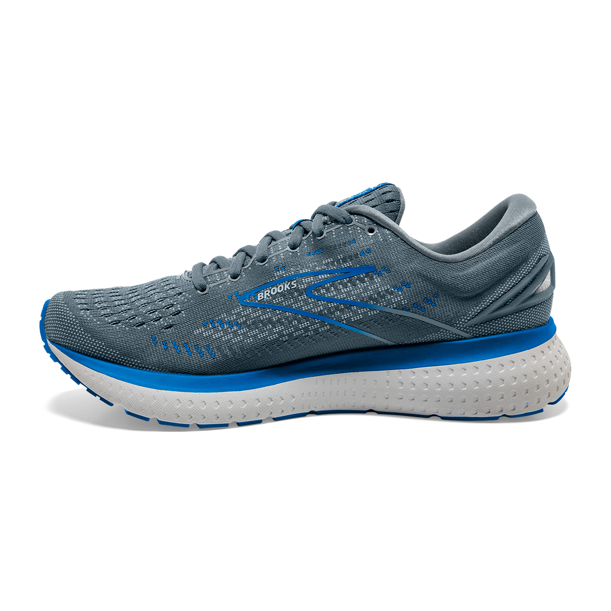 Men's Brooks Glycerin 19 Running Shoe - Color: Quarry/Grey/Dark - Size: 7 - Width: Regular, Quarry/Grey/Dark, large, image 5