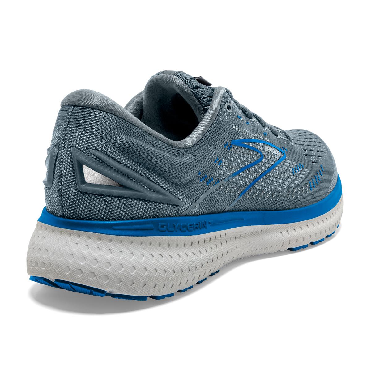 Men's Brooks Glycerin 19 Running Shoe - Color: Quarry/Grey/Dark - Size: 7 - Width: Regular, Quarry/Grey/Dark, large, image 6