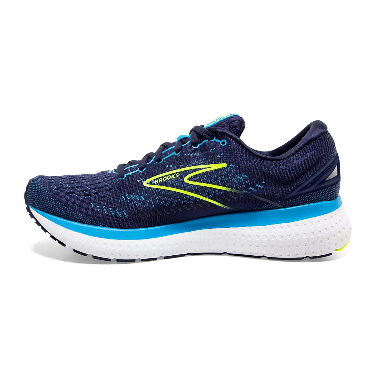 Men's Brooks Glycerin 19 Running Shoe - Color: Navy/Blue/Night - Size: 7 - Width: Regular, Navy/Blue/Night, large, image 5