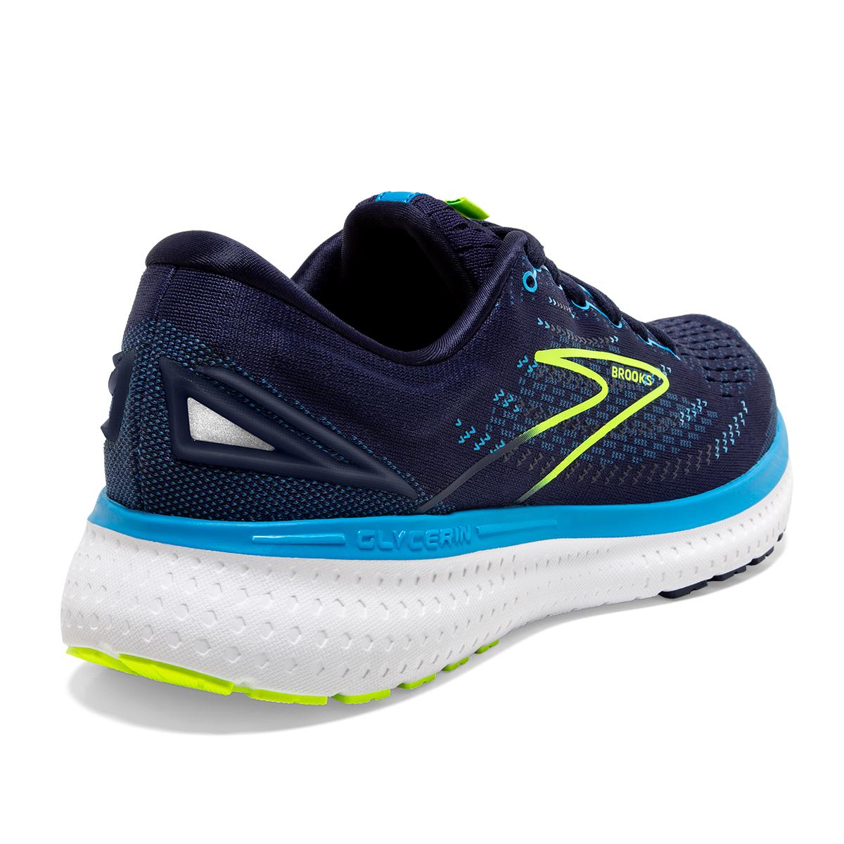 Men's Brooks Glycerin 19 Running Shoe - Color: Navy/Blue/Night - Size: 7 - Width: Regular, Navy/Blue/Night, large, image 6