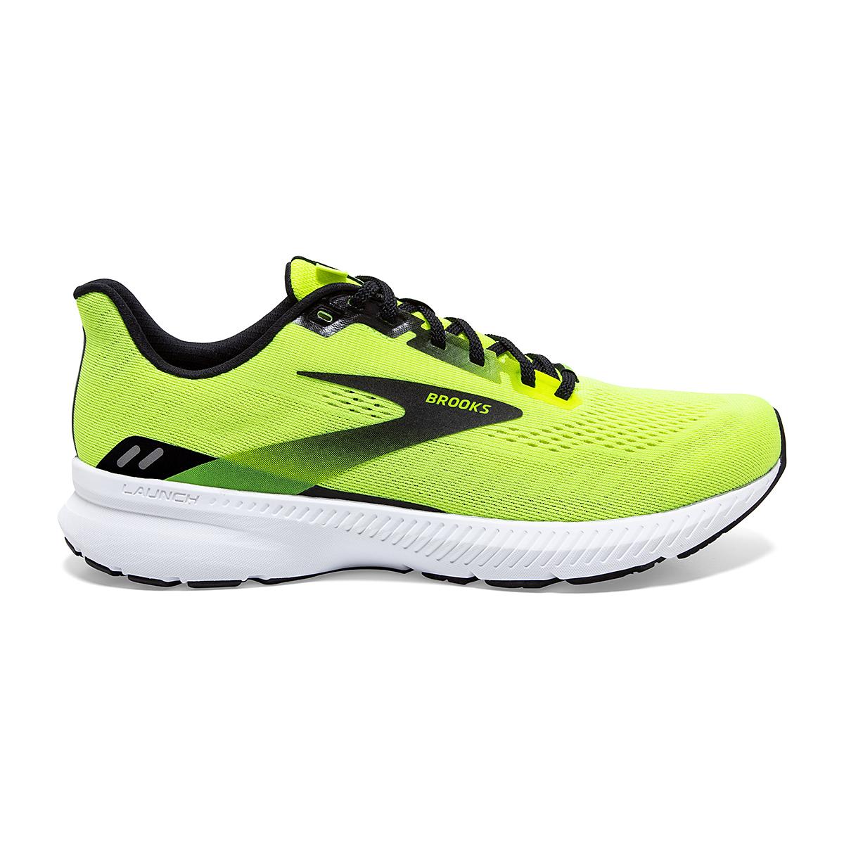 Men's Brooks Launch 8 Running Shoe - Color: Nightlife/Black/White - Size: 7 - Width: Regular, Nightlife/Black/White, large, image 1