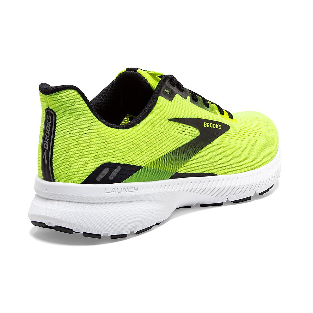 Men's Brooks Launch 8 Running Shoe - Color: Nightlife/Black/White - Size: 7 - Width: Regular, Nightlife/Black/White, large, image 3