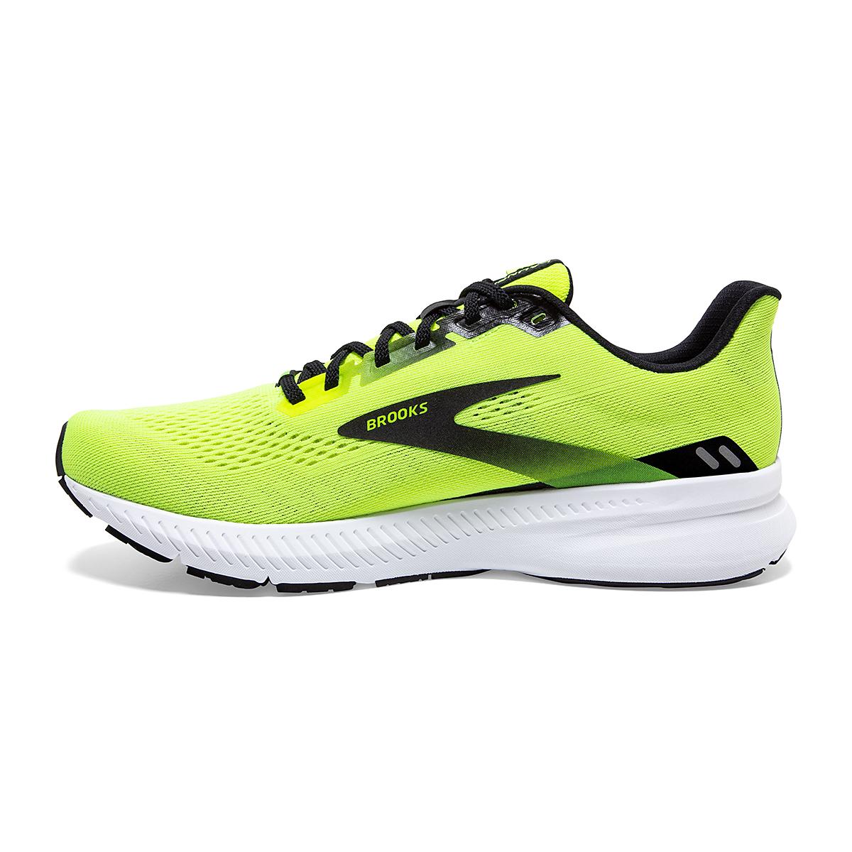 Men's Brooks Launch 8 Running Shoe - Color: Nightlife/Black/White - Size: 7 - Width: Regular, Nightlife/Black/White, large, image 4