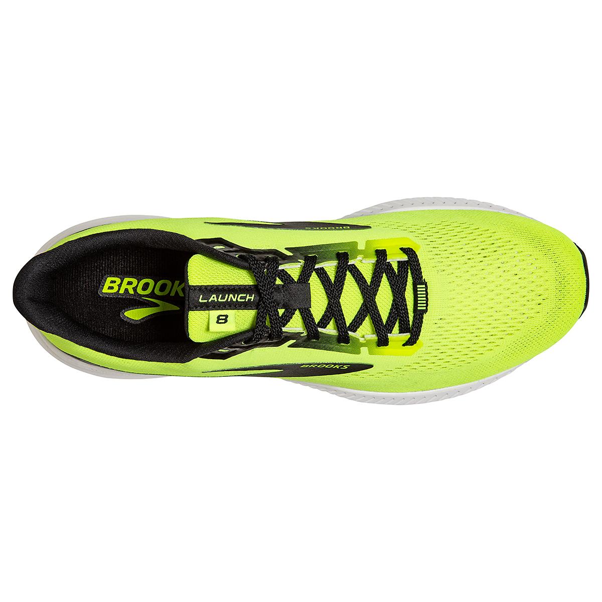 Men's Brooks Launch 8 Running Shoe - Color: Nightlife/Black/White - Size: 7 - Width: Regular, Nightlife/Black/White, large, image 5
