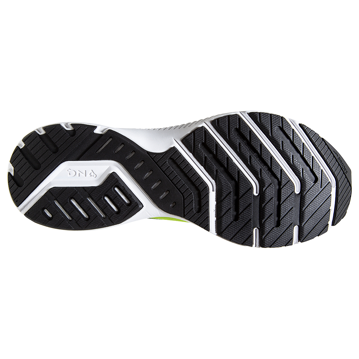Men's Brooks Launch 8 Running Shoe - Color: Nightlife/Black/White - Size: 7 - Width: Regular, Nightlife/Black/White, large, image 6