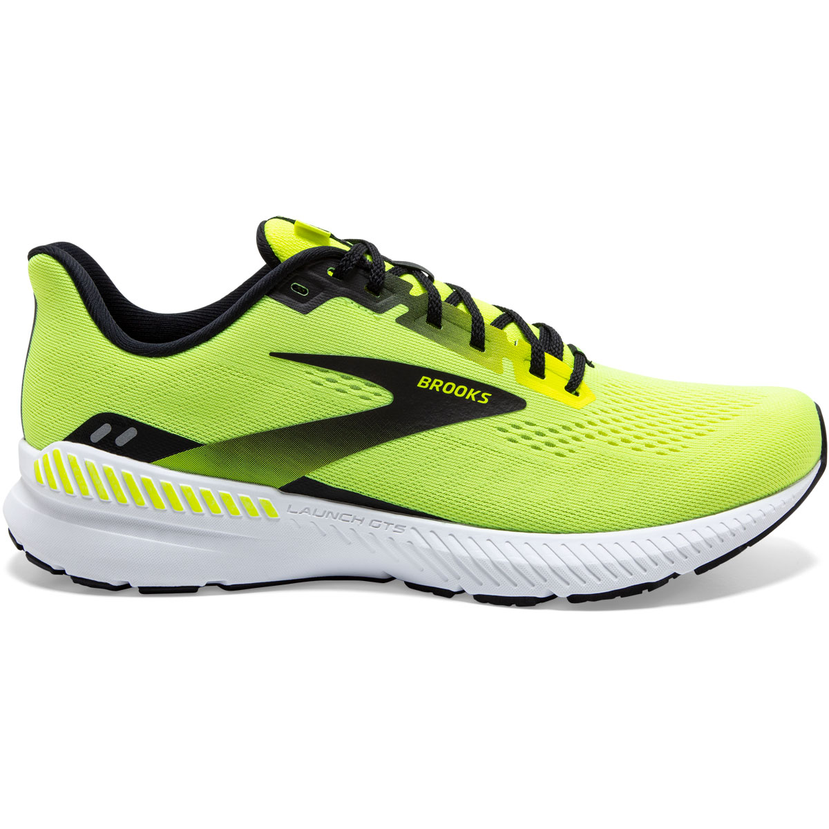 Men's Brooks Launch GTS 8 Running Shoe - Color: Nightlife/Black - Size: 7 - Width: Regular, Nightlife/Black, large, image 1