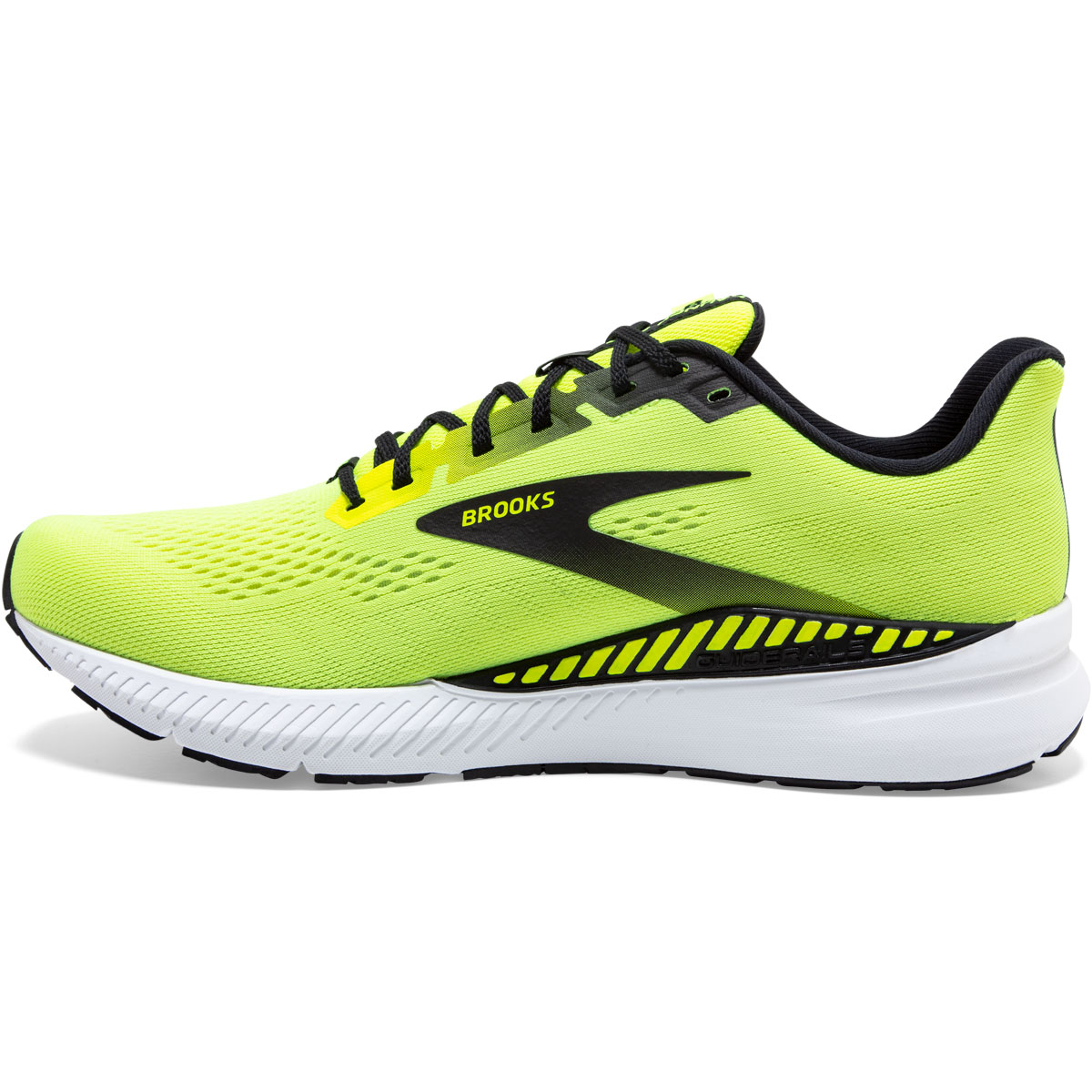 Men's Brooks Launch GTS 8 Running Shoe - Color: Nightlife/Black - Size: 7 - Width: Regular, Nightlife/Black, large, image 2