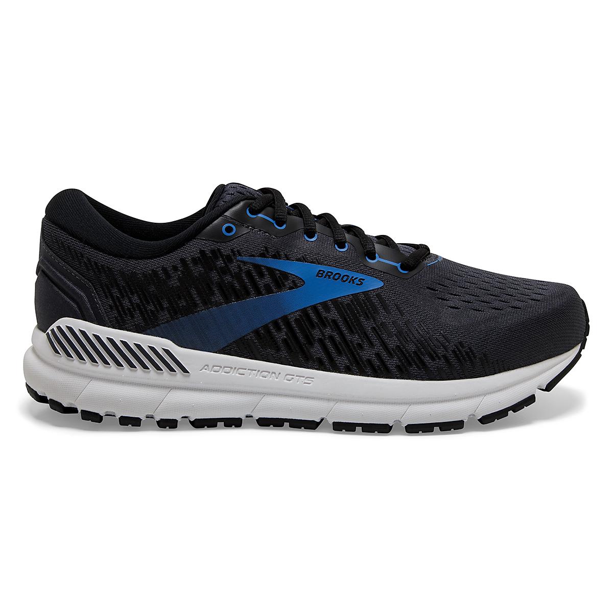 Men's Brooks Addiction GTS 15 Running Shoe - Color: India Ink/Black/Blue - Size: 7 - Width: Regular, India Ink/Black/Blue, large, image 1