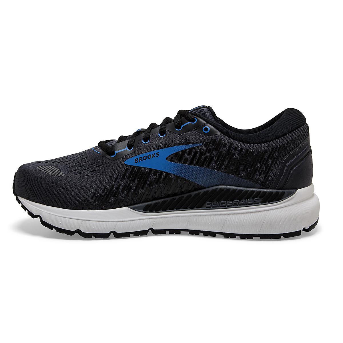 Men's Brooks Addiction GTS 15 Running Shoe - Color: India Ink/Black/Blue - Size: 7 - Width: Regular, India Ink/Black/Blue, large, image 2