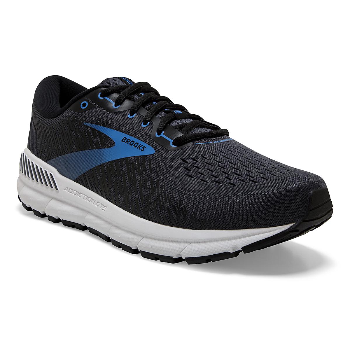 Men's Brooks Addiction GTS 15 Running Shoe - Color: India Ink/Black/Blue - Size: 7 - Width: Regular, India Ink/Black/Blue, large, image 5
