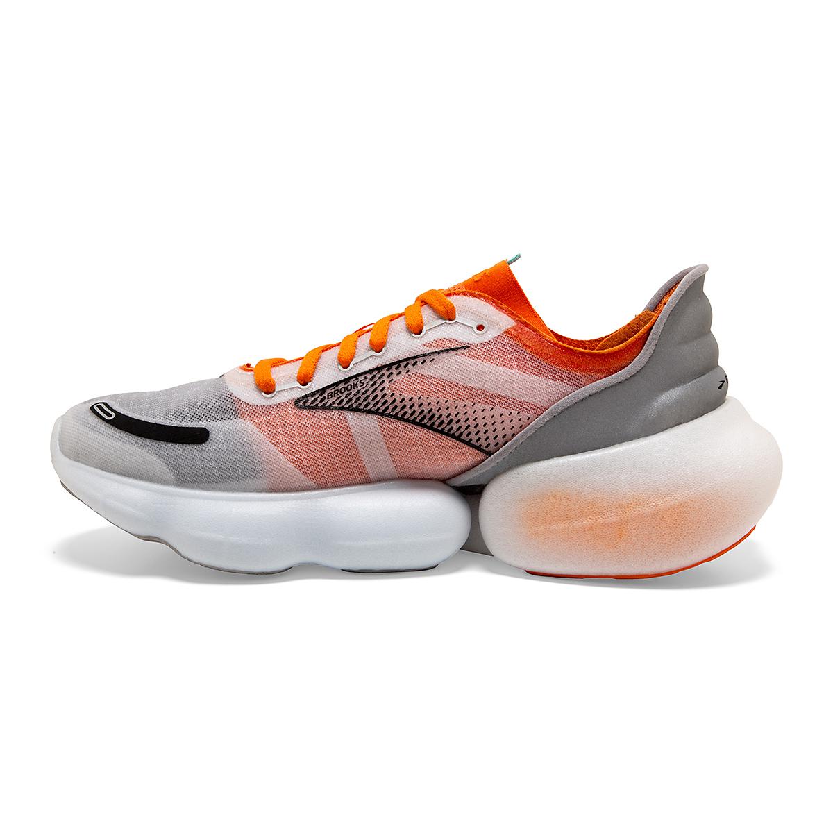 Men's Brooks Aurora-BL Running Shoe - Color: Persimmon/Antarctica - Size: 7 - Width: Regular, Persimmon/Antarctica, large, image 2