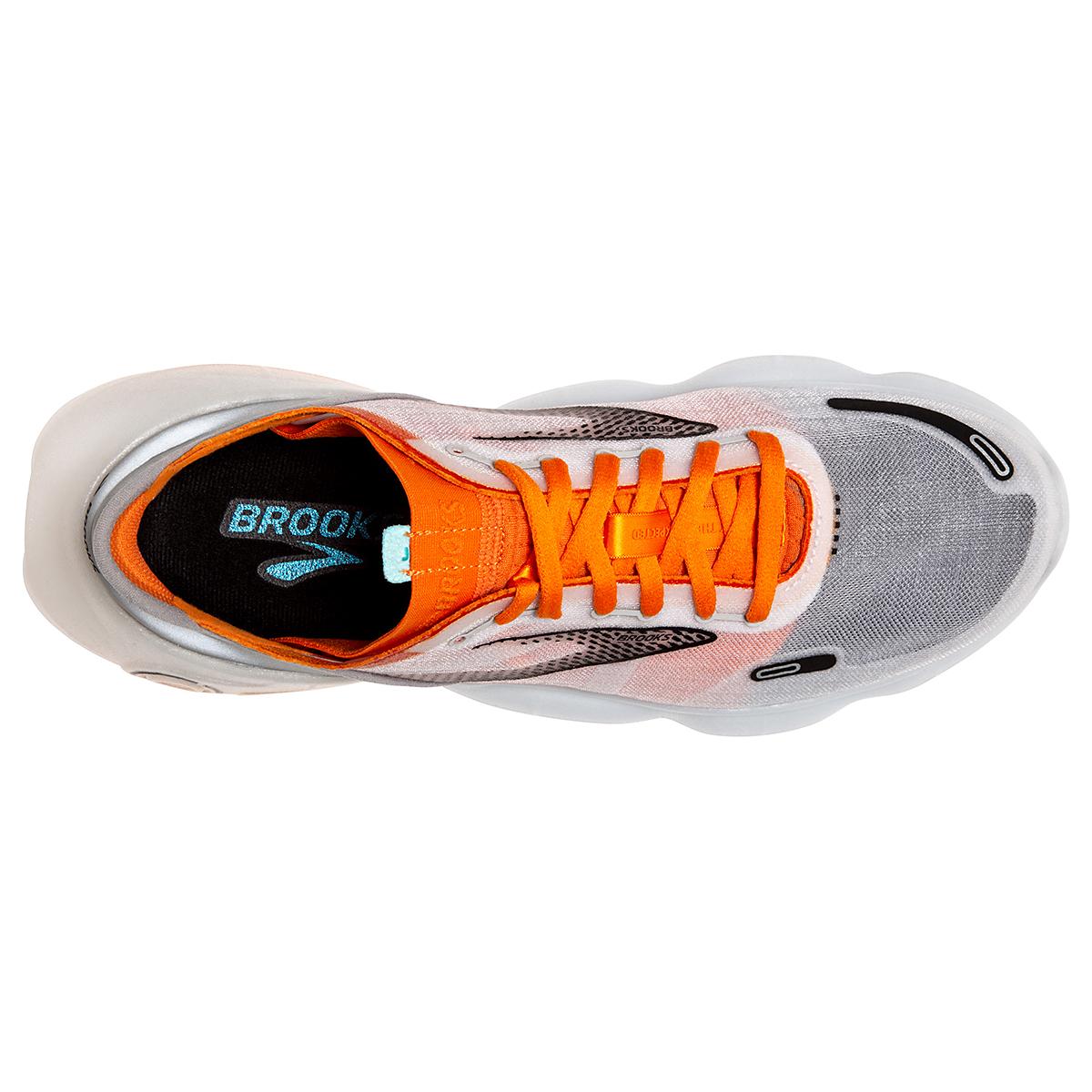 Men's Brooks Aurora-BL Running Shoe - Color: Persimmon/Antarctica - Size: 7 - Width: Regular, Persimmon/Antarctica, large, image 5