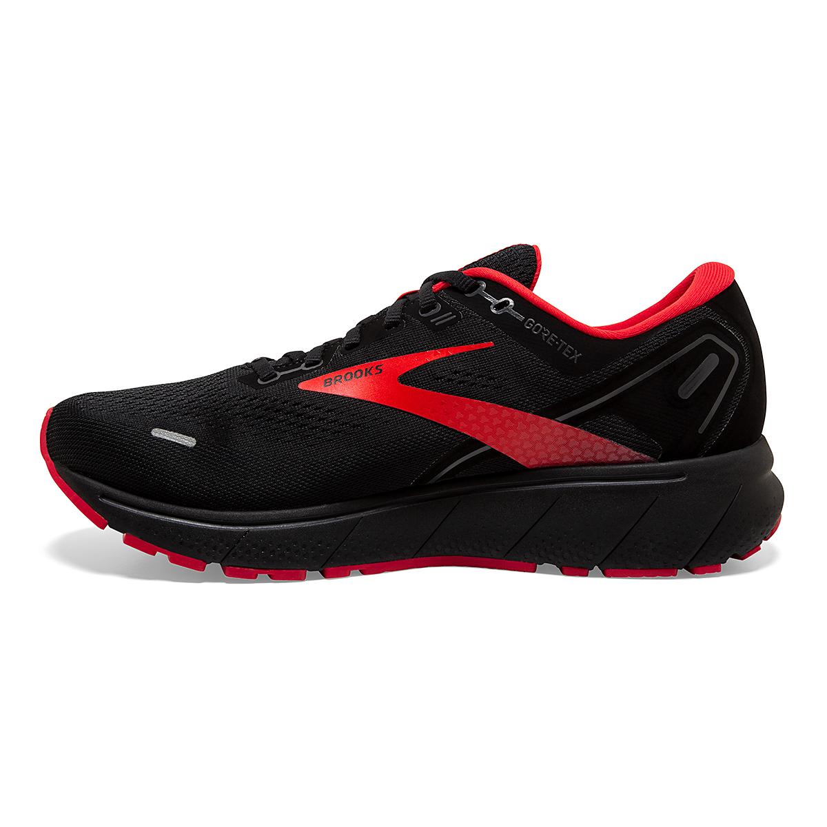 Men's Brooks Ghost 14 Gore-Tex Running Shoe - Color: Black/Blackened - Size: 7 - Width: Regular, Black/Blackened, large, image 2