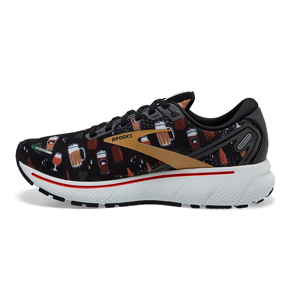 Men's Brooks Ghost 14 Running Shoe - Color: Run Hoppy - Size: 7 - Width: Regular, Run Hoppy, large, image 4
