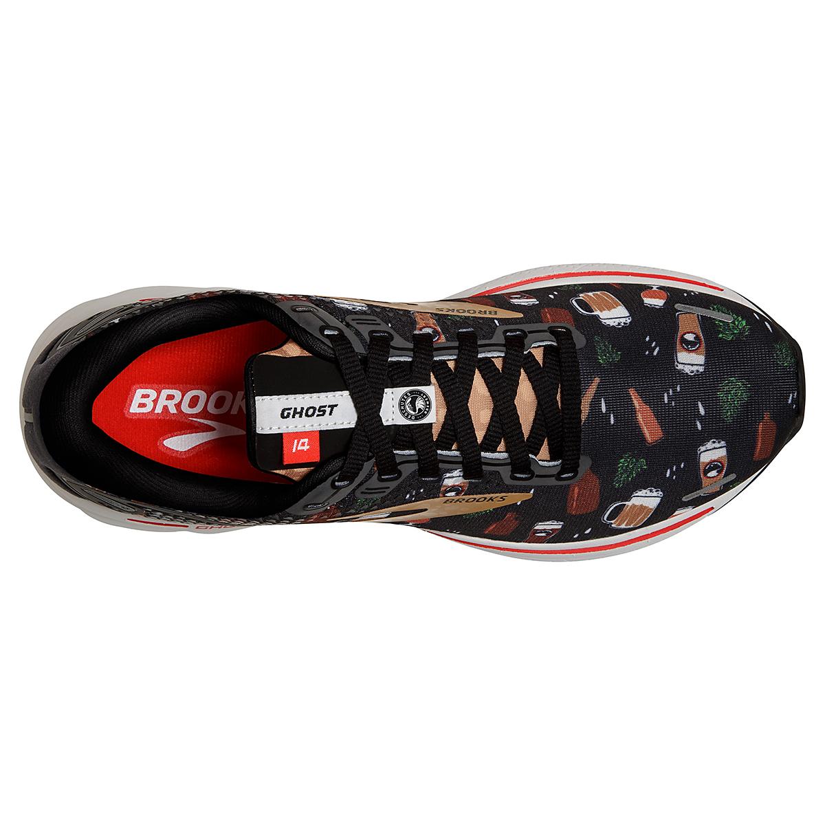 Men's Brooks Ghost 14 Running Shoe - Color: Run Hoppy - Size: 7 - Width: Regular, Run Hoppy, large, image 5