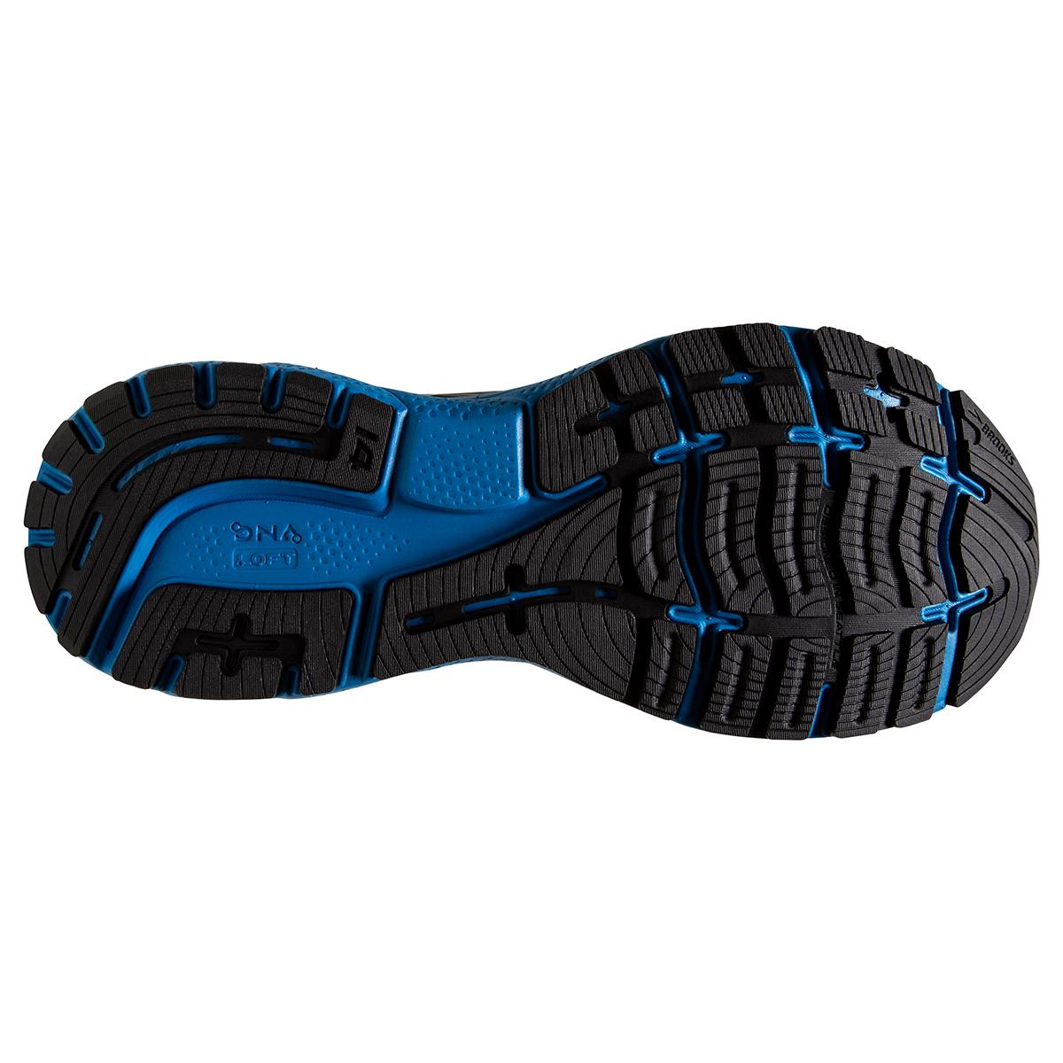 Men's Brooks Ghost 14 Running Shoe - Color: Black/Blackened - Size: 7 - Width: Regular, Black/Blackened, large, image 4