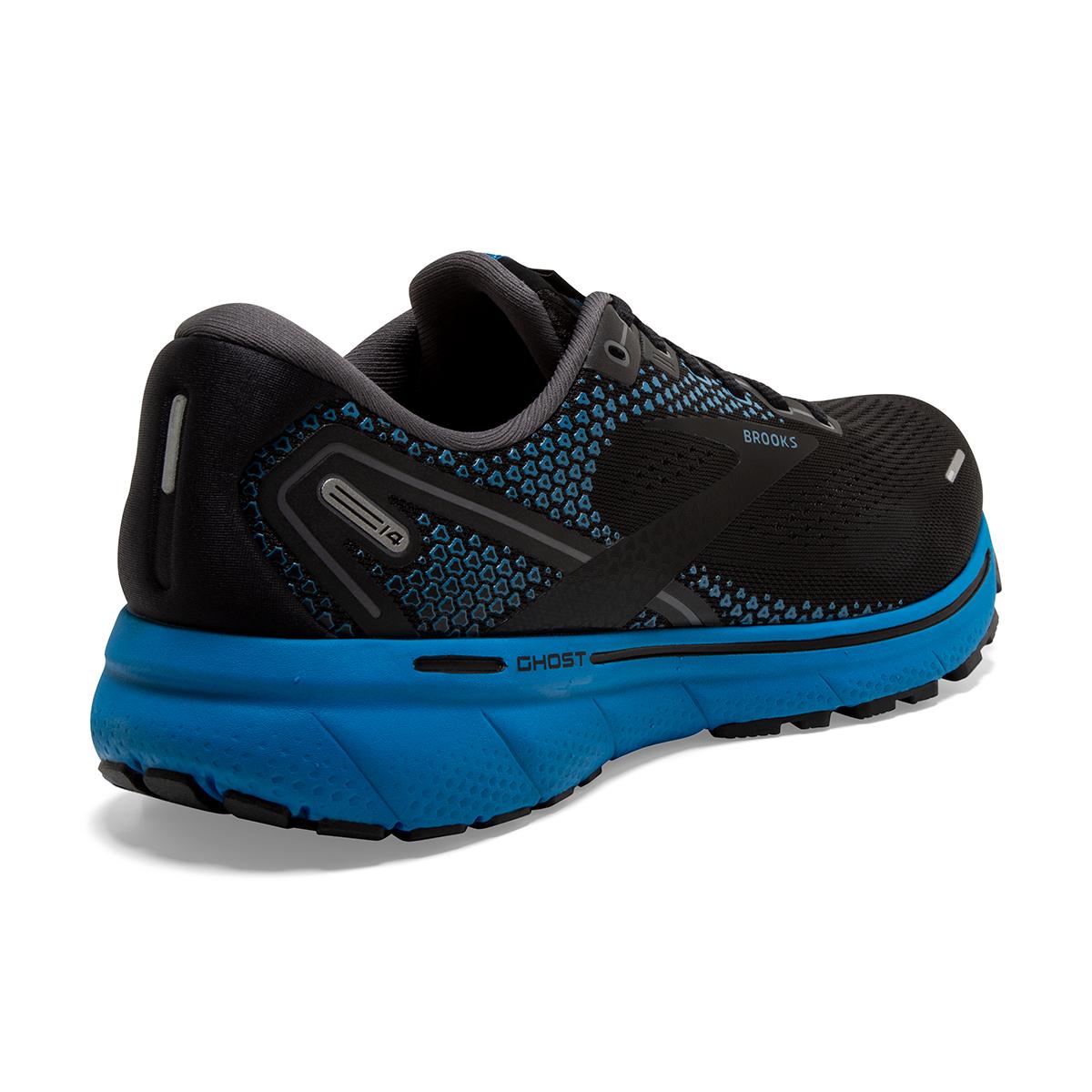 Men's Brooks Ghost 14 Running Shoe - Color: Black/Blackened - Size: 7 - Width: Regular, Black/Blackened, large, image 6