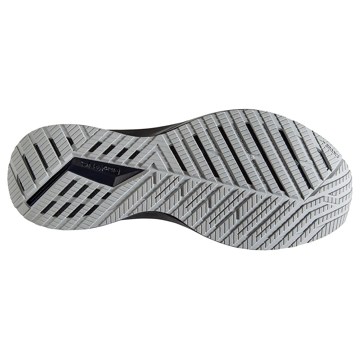 Men's Brooks Levitate Stealthfit 5 Running Shoe - Color: Peacoat/Grey - Size: 7 - Width: Regular, Peacoat/Grey, large, image 6