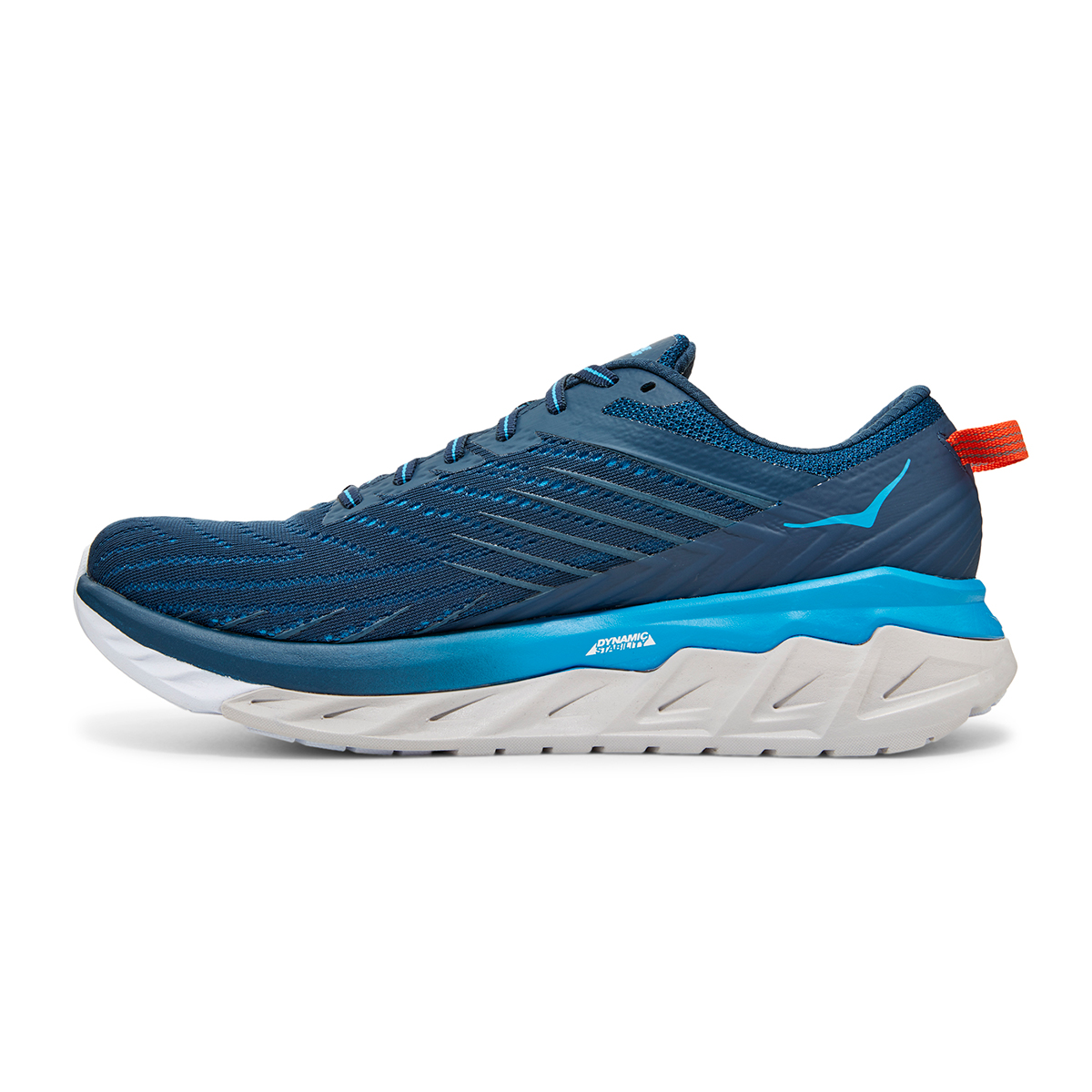 Men's Hoka One One Arahi 4 Running Shoe - Color: Majolica Blue/Dresden Blue (Regular Width) - Size: 7, Majolica Blue/Dresden Blue, large, image 2