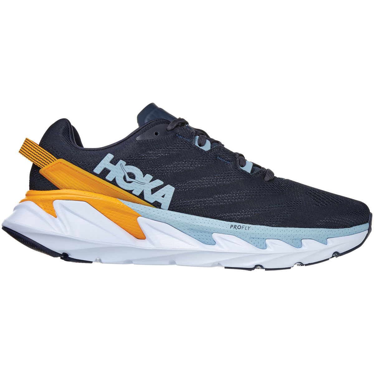 Men's Hoka One One Elevon 2 Running Shoe - Color: Ombre Blue - Size: 7 - Width: Regular, Ombre Blue, large, image 1
