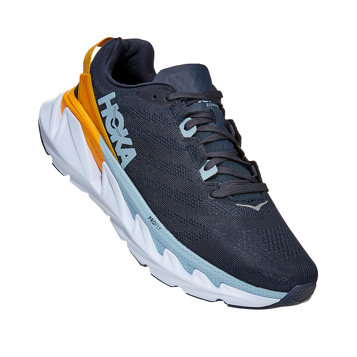 Men's Hoka One One Elevon 2 Running Shoe - Color: Ombre Blue - Size: 7 - Width: Regular, Ombre Blue, large, image 3