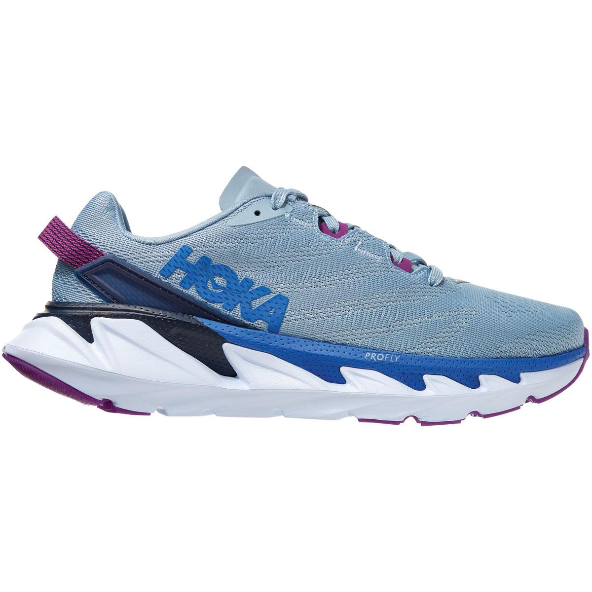 Women's Hoka One One Elevon 2 Running Shoe - Color: Ballad Blue - Size: 5 - Width: Regular, Ballad Blue, large, image 1