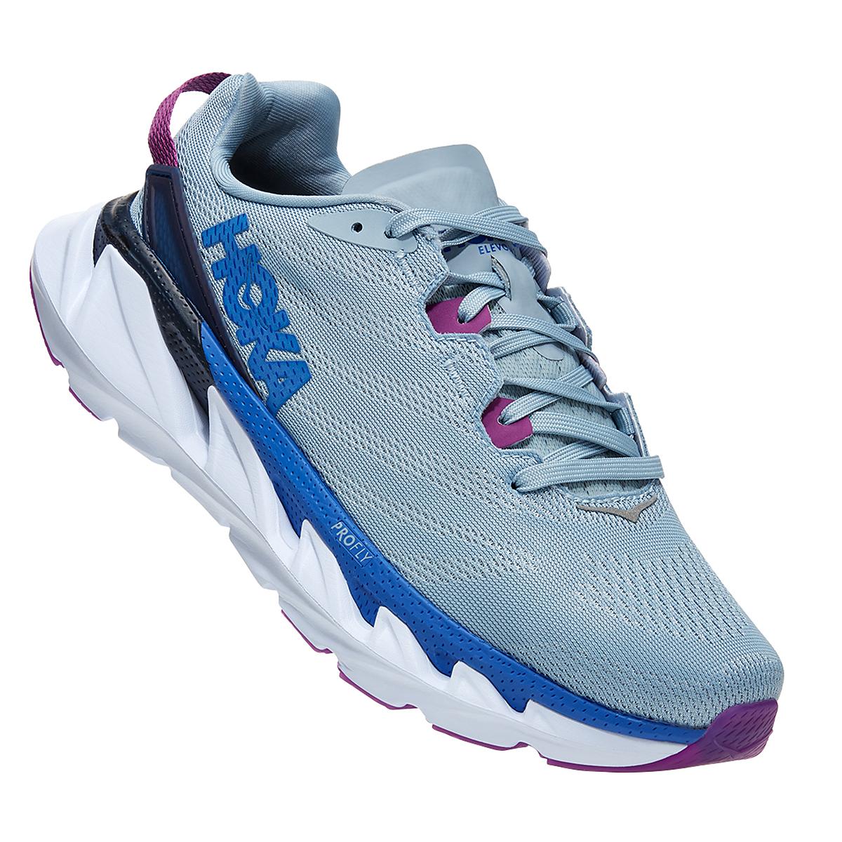 Women's Hoka One One Elevon 2 Running Shoe - Color: Ballad Blue - Size: 5 - Width: Regular, Ballad Blue, large, image 3